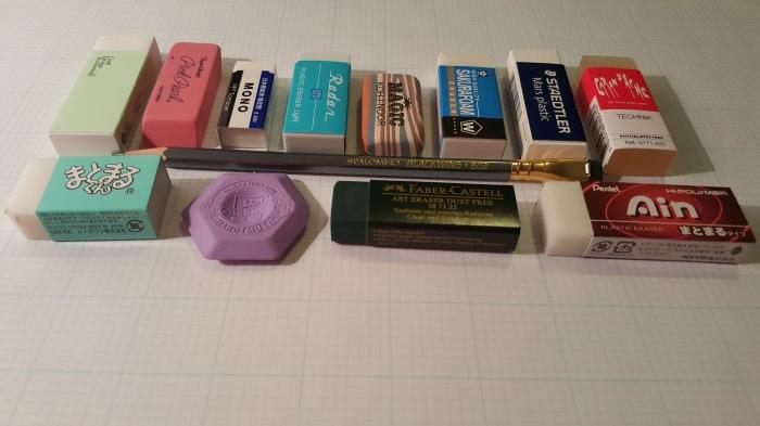 Eraser Round Up